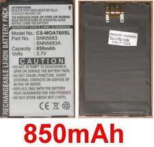 Batterie 850mAh type SNN5683 SNN5683A SNN5704 SNN5717 Pour MOTOROLA i530