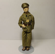 Antique WW II Freundlich Nov. General MacArthur Tagged Military Composition Doll