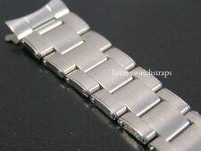 SUPERB STAINLESS STEEL OYSTER RIVET BRACELET FOR ROLEX GMT WATCH 20mm