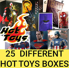 Hot Toys Empty Box Hulk AOU Ghostrider Boxes IronMan Sideshow Avengers Spiderman