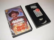 VHS Video ~ A Nightmare on Elm Street: Part 2 Freddy's Revenge ~ Warner