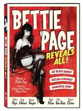 NEW Bettie Page Reveals All (DVD)