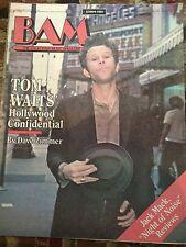 BAM Magazine (The California Music Magazine) TOM WAITS 2/26/1982  MINT!