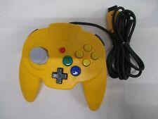 N64 -- HORI Pad Mini Yellow Controller -- Nintendo 64, JAPAN Game. 28733