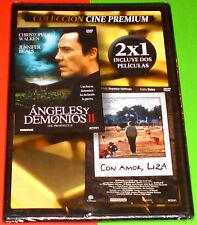 ANGELES Y DEMONIOS II + CON AMOR LIZA / THE PROPHECY II + LOVE LIZA -DVD R2-