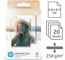 "HP Sprocket Plus Sticky-backed Paper 20 Sheets (5.8 x 8.7cm) [2.3 x 3.4""] 2LY72A"