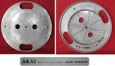Plateau aluminium d'origine occasion platine disques Akai AP-100C
