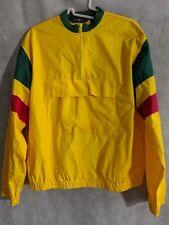 Polo Ralph Lauren Vintage Colorblock Pullover Windbreaker Half Zip Jacket Large