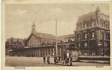 Tourcoing, Gare, Bahnhof, 1. Weltkrieg, Feldpost, Stempel, Lazarett, Rotes Kreuz