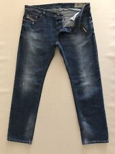 DIESEL JEANS NWT Safado Regular Slim Straight Stretc Denim Size 38x32 New$198.00