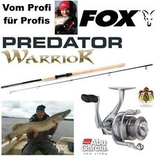 Spinnangler - SET  ABU CARDINAL FD 40 S + FOX WARRIOR Spin 2,40m