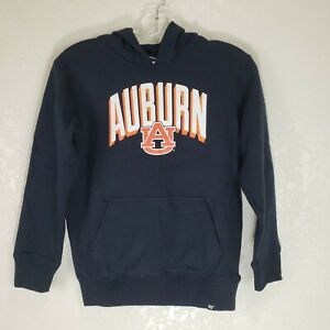 Auburn University 47 Brand NWT Kids Small Boys Girls Hoodie Black Tigers