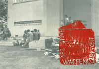 Felix Droese: Haus der Waffenlosigkeit (1989). Signierter Siebdruck/Offset.