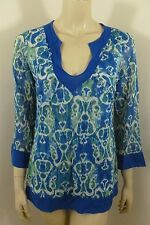 Sweet Pea Anthropologie  Multi-color Long Sleeve Top Woman Size M