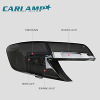 LED Tail Lighs For TOYOTA CAMRY 2012-2014 Smoked LED Rear Light Assembly