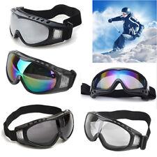 Airsoft Gafas, Esquí y Snowboard, Anti-Niebla/Viento/Arena, 100%UV400 Protección