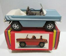 LUNDBY OF SWEDEN VINTAGE CONVERTIBLE CAR UNUSED IN BOX DOLLHOUSE MINIATURE TOY