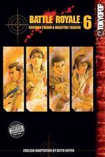 Battle Royale Vol. 6 MANGA Koushun Takami Masayuki Taguchi TOKYO POP