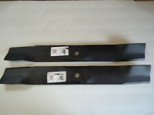 """2 Hi Lift Bagging Blades for 42"""" John Deere X300 LA120 AM137327 AM141034"""
