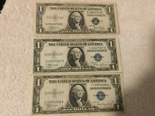 1935 Silver Certificates, No Motto, Series A-G w/ Free Shipping ..7 notes !!