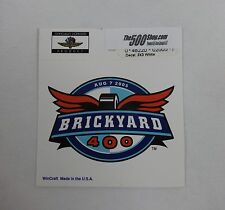 2005 Brickyard 400 Event Collector Decal Indianapolis Motor Speedway Indy