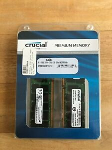 Crucial 64 GB 2133 MHz ECC DDR4 Registered Buffered Memory CT4K16G4RFD4213