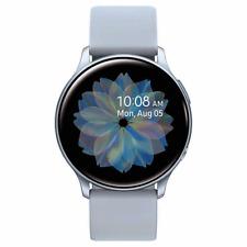 Samsung Galaxy Active 2 Smartwatch 44mm Cloud Silver SM-R820NZSCXAR Bundle