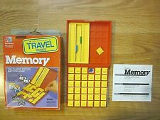 Travel MEMORY GAME Milton Bradley 1989