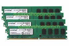 Crucial 8GB 4X 2GB PC2-6400 DDR2-800MHz 240PIN DIMM Desktop RAM Memory PC6400