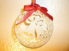 vintage Lenox 1985 christmas bells ornament
