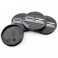 4x 55mm OZ Racing Nabendeckel Felgendeckel Acryl Carbon M582 für Ultraleggera