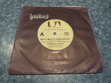 RECORD 45 RPM - CRYSTAL GAYLE , DON'T IT MAKE MY BROWN EYE'S BLUE / IT'S ALL