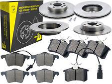 4 Bremsscheiben + Beläge Vorne & Hinten Ford Galaxy Seat Alhambra VW Sharan