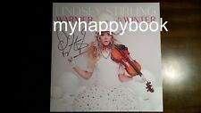 SIGNED Warmer in the Winter by Lindsey Stirling CD, autographed, new