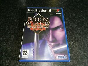 """Blood Will Tell (PS2) """"Box Only"""""""