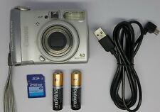 Canon PowerShot A520 4.0MP appareil photo numérique-Argent + carte mémoire 256 Mo,,