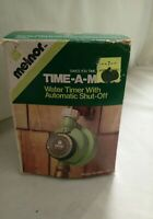 MELNOR Time-A-Matic Model 101 Water Timer with Automatic Shut Off White