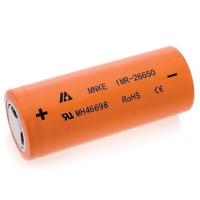 MNKE IMR 26650 20A 3500mAh Rechargeable Lithium Li Ion Battery Batteries