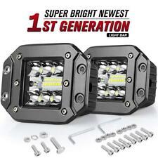 2pcs 300W Phare de Travail Barre à LED Feux Projecteur Offroad 4x4 JEEP 12V 24V