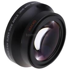 67mm 0.43X SuPer Wide Angle Lens + Macro Close-Up Lens for Canon Nikon Camera