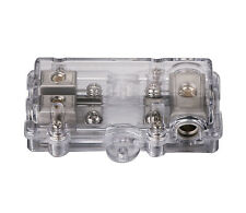 NC Shipping Anl Fuse Holder Block 3x4GA In 2x8Ga Out Free 100A Anl Fuse Skfh135N