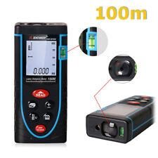 Q83 100m LCD Laser Messer Distanzmesser Lasermessgerät Entfernungsmesser +2* AAA
