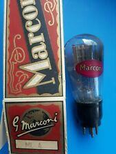 ML4 Marconi tube Röhre, Röhrenverstärker, Mesh Triode Output, Original Box, NOS