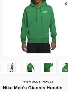 Nike Freak Green Men's Medium Hoodie