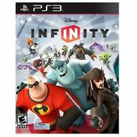PS3 Disney Infinity 1.0 Playstation 3 Kids Game Only No Base or Figures