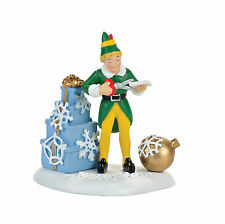 Dept 56 Elf the Movie Christmas Village Buddys Christmas Decoratiosns 4057282