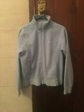 RIP CURL BLUE ZIP UP JACKET SIZE 14