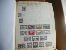 2 Scott 1936 Album Pages of Stamps Bosnia 1906 Etc Rare icstamps Stamps1000-47