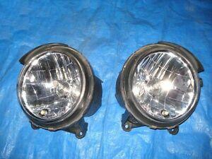 JDM Daihatsu Mira Gino L700S Cuore Headlights Lights Lamps Set Pair OEM
