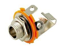 Goobay Jack chassis socket 6.35mm mono open type (11083)